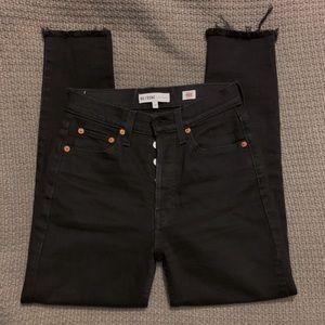 RE/DONE black skinny jeans size 25